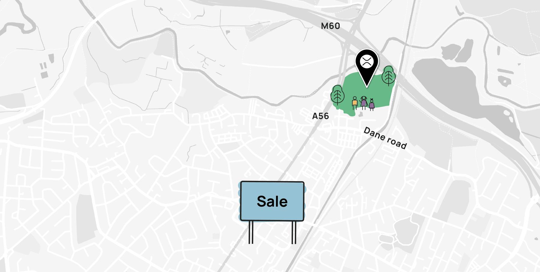 Sale Sharks Map